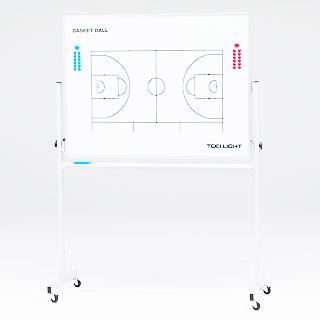 【受注生産品】トーエイライト 移動式 作戦板 (バスケット) B-2546