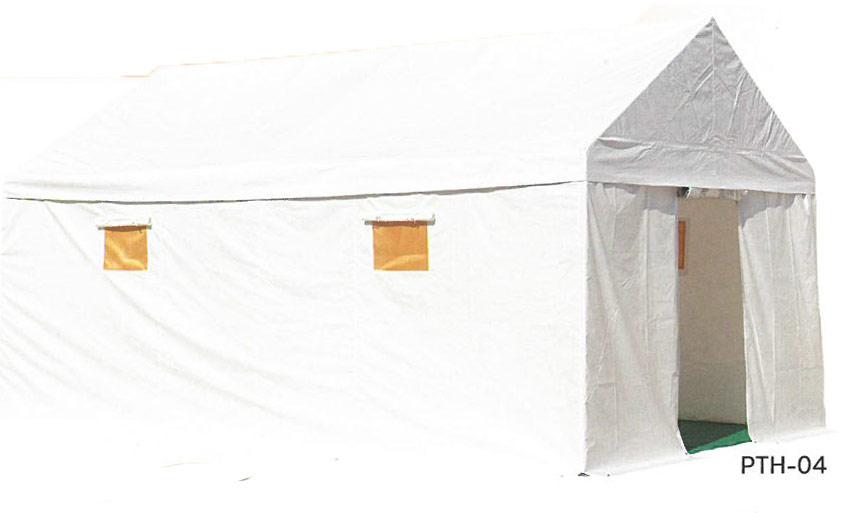 【受注生産品】ナカツテント 避難生活用テント 防炎 (10人用)PTH-04