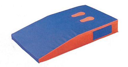 【受注生産品】ダンノ ソフト軽量踏切板 D-8407 |授業用跳び箱 小学校向け ダンノ 送料無料 スポーツ施設 開脚 ソフト跳び箱