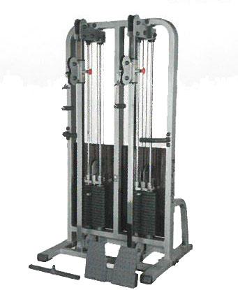 【予約販売:納期4ヶ月】Bodysolid Pro Club Line ダブルケーブルマシン SDC-2000G(チャーター便で配送、送料別途)