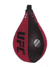 【スピードバッグ】UFC レザースピードバッグ 254x178mm UHK-69750