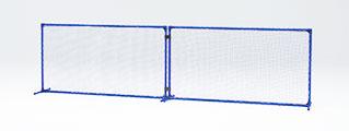 【ポイント5倍!4/16 1:59まで】【受注生産品】【テニストレーニングネット】トーエイライト ボレーフェンスST B-2461