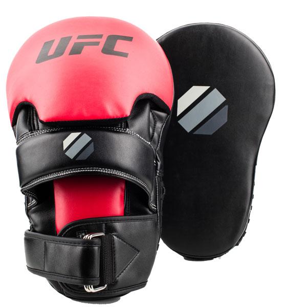【ポイント5倍!期間8/4-8/8】【キックミット】(正規品)UFC ロングカーブフォーカスミット UHK-69753