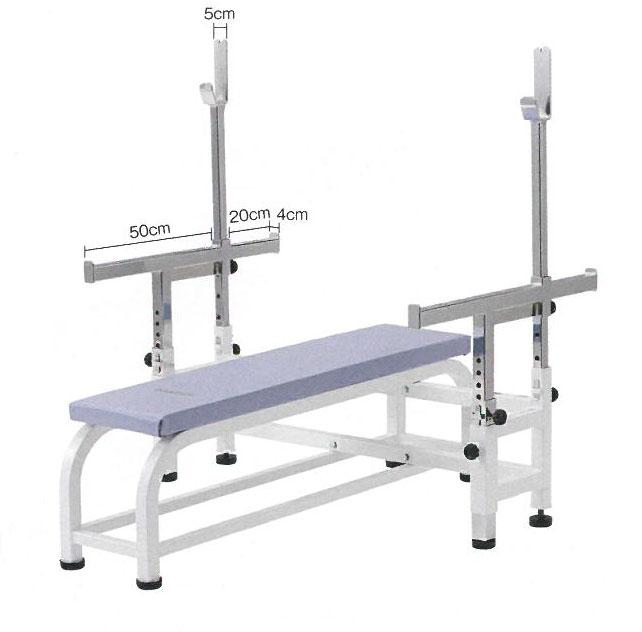 【受注生産品】【トレーニングベンチ】 ダントス パワーベンチHDX D-539 トレーニングマシン トレーニング器具