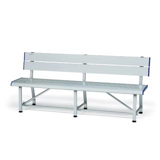 【受注生産品】【スポーツベンチ】トーエイライト スポーツアルミベンチSG180 B-6071