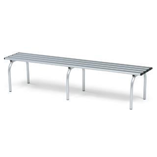 【受注生産品】【スポーツベンチ】トーエイライト スポーツアルミベンチSS1800 B-3343