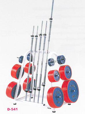 【受注生産品】【バーベル ラック】DANNO バーベルラックDX 28 Φ28mmプレート用 D-541|バーベルプレートスタンド バーベルプレート