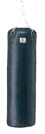 【受注生産品】【サンドバッグ 自宅】九櫻 サンドバッグ 鎖・S環付 約40kg RN110P(黒)【代引き不可】