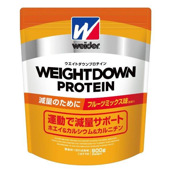 【ウエイトダウンプロテイン】ウイダー ウエイトダウンプロテイン 900g(お買得2袋セット)