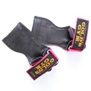 【パワーグリップ】ゴールドジム パワーグリッププロタイプ ピンク 女性用(XSサイズのみ) G3760