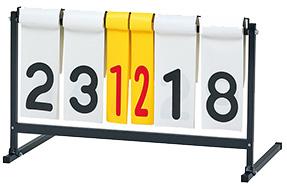 【ポイント10倍!スーパーSALE】【受注生産品】トーエイライト (TOEI LIGHT) ハンディー得点板 2 B-2708