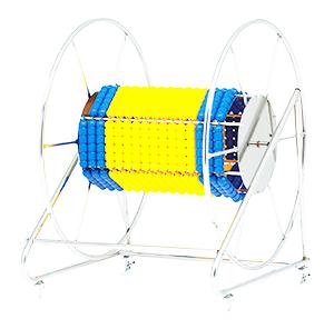 【受注生産品】トーエイライト ステンレスコースロープ巻取器8 B-2828