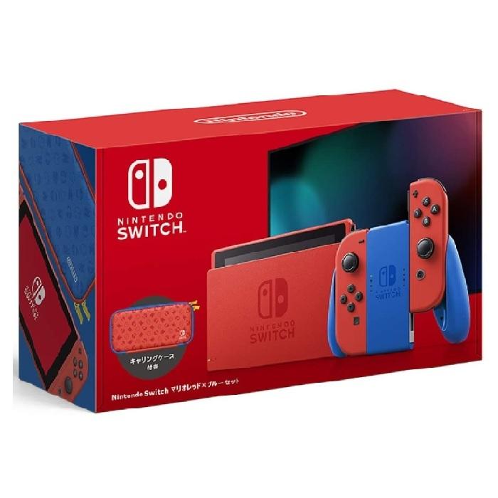新品 超特価SALE開催 任天堂 Nintendo Switch マリオレッド×ブルー セット任天堂 他店保証印なし 本体 ゲーム機 セットHAD-S-RAAAF ニンテンドースイッチ 新型 安全