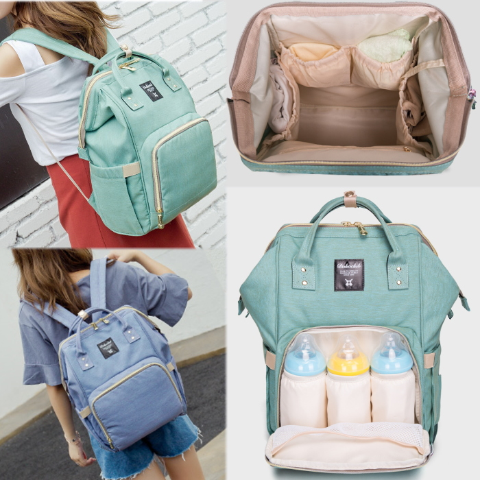 本物◆ マザーズリュック マザーズバッグ 赤ちゃんお世話バッグ ベビーカーにも 赤ちゃん用品収納鞄 セール SALE 大決算セール BAG 鞄