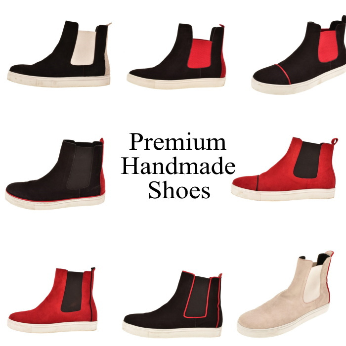 配色切り替えサイドゴアレザーブーツ ハンドメイドブーツ メンズブーツ ブーツ カジュアルブーツ レザー 本革 レザーブーツ