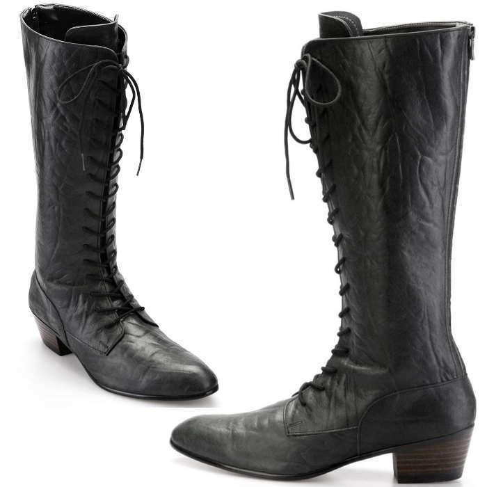 ロング メンズブーツ レザーブーツ 靴 くつ ブーツ 小さいサイズ 大きいサイズ 新着 25cm 25.5cm 26cm 26.5cm 全1色 ハンドメイドブーツ 本革 ロングブーツ 27.5cm 在庫一掃売り切りセール 28cm メンズロングブーツ レザー レースアップ 27cm レースアップレザーロングブーツ