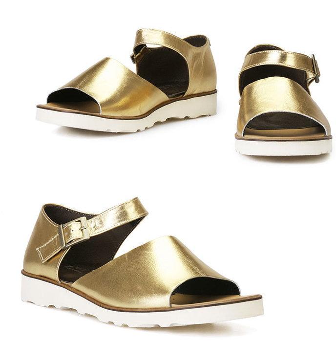 レザーアンクルストラップサンダル/全1色 メンズ ハンドメイド サンダル レザーサンダル ストラップサンダル メンズサンダル 靴