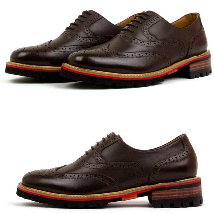 ウィングチップシューズ/全1色 ハンドメイドシューズ ビジネスシューズ ビジネス シューズ 靴 レザー 本革 レザーシューズ オックスフォードシューズ