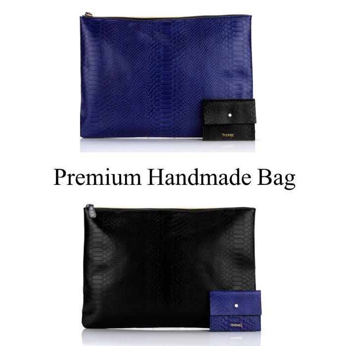 クロコ型押しレザークラッチバッグ/全2色 本革バッグ クラッチバッグ BAG 鞄 レザー 本革