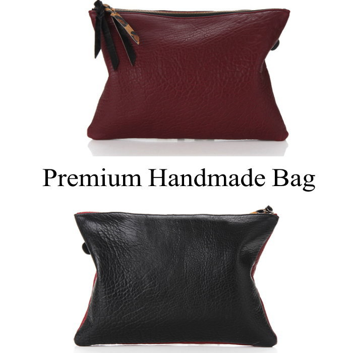 シンプルレザークラッチバッグ 本革バッグ クラッチバッグ BAG 鞄 レザー 本革