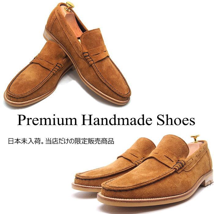 レザーローファー/全1色 ハンドメイド メンズ メンズシューズ レザー 本革 レザーシューズ ローファー ハンドメイドシューズ シューズ 靴
