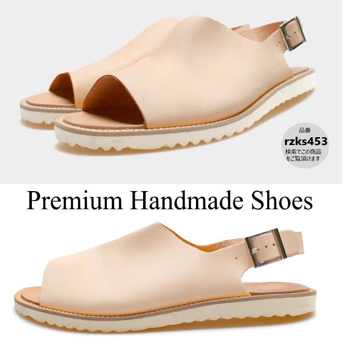 バックストラップレザーサンダル 本革サンダル メンズサンダル レザーサンダル 紳士靴