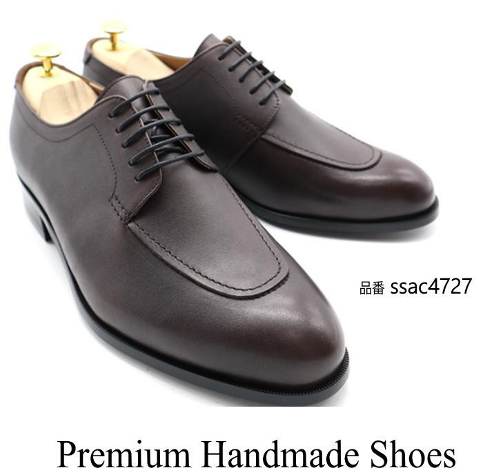 レザービジネスシューズ/全1色 ハンドメイドシューズ シューズ 靴 レザー 本革 レザーシューズ ビジネスシューズ ビジネス シンプル ドレスシューズ