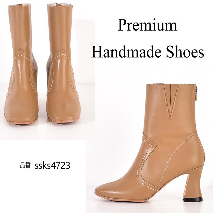 送料無料(一部離島は除く) レザーブーツ 本革ブーツ ハンドメイドシューズ 靴通販