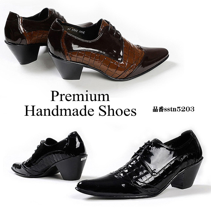 レザードレスシューズ/全2色 ハンドメイドシューズ シューズ 靴 レザー 本革 レザーシューズ ビジネスシューズ ビジネス シンプル ドレスシューズ