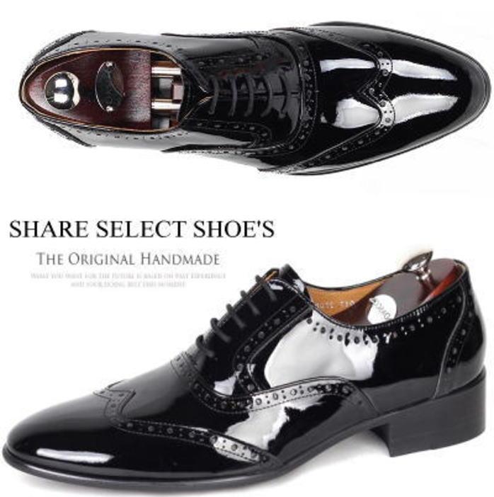 オックスフォードシューズ/全1色 ハンドメイド オーダーメイドシューズ ビジネスシューズ ウィングチップ シューズ 靴