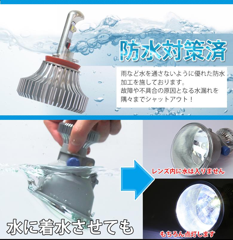 预售只能选择从水雾 LED 灯大雾 LED 雾灯亮度 MAX26W LED 灯 H8 H11 H16 形状大雾 5800 K 6700 K 超高强度 LED 灯具专用 Aqua 大雾 5800 k