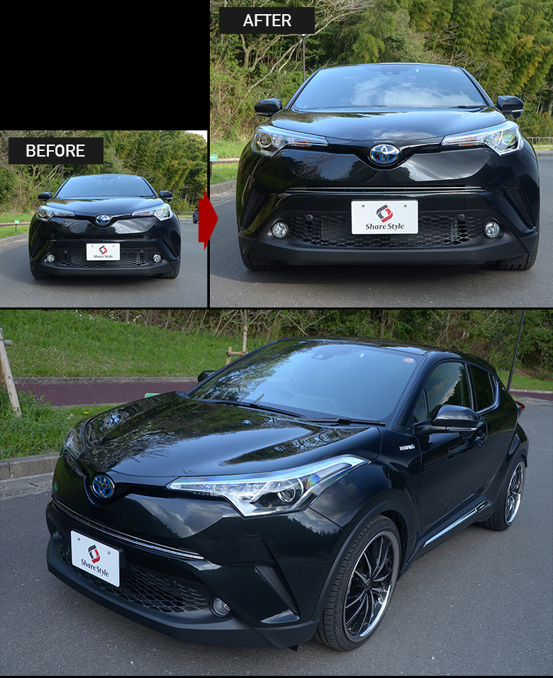 SHARE STYLE | Rakuten Global Market: Design simple installation CHR Toyota Toyota for exclusive ...