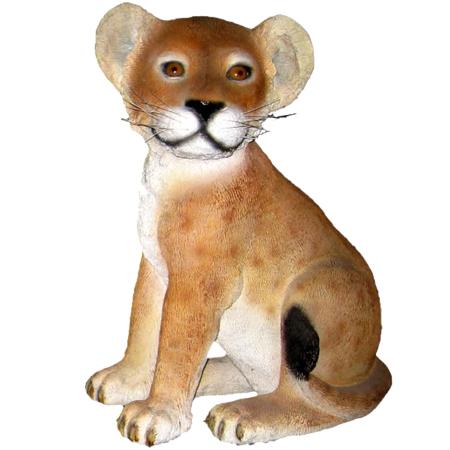 見つめる子ライオン【CARUNA】