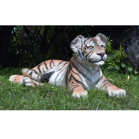 見つめる子タイガー/Tiger Cub-Lying Down【CARUNA】