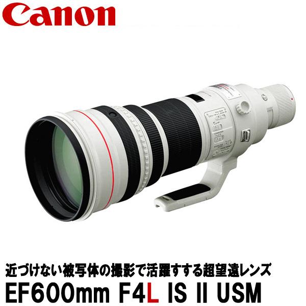 【送料無料】 キヤノン EF600mm F4L IS II USM 5125B001 [Canon EF60040LIS2 超望遠レンズ]
