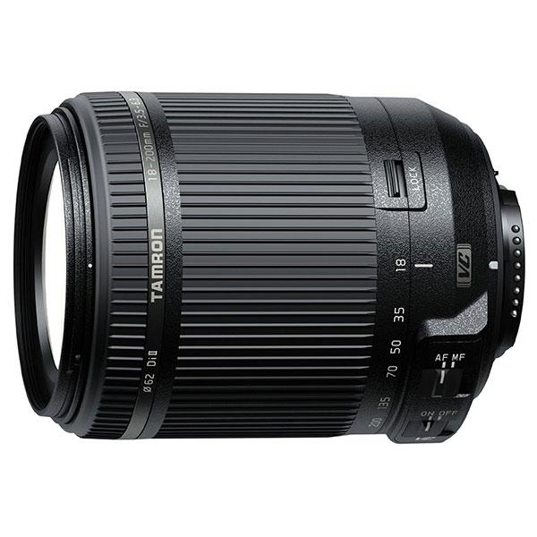 【送料無料】 タムロン 18-200mm F/3.5-6.3 Di II VC (Model B018) ニコン用 [35mm判換算28-310mmの高倍率ズームレンズ/ニコンFマウント/B018/TAMRON]