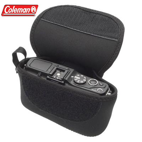 etsumi CO-8712科尔曼氯丁橡胶照相机情况黑色[没有小型的镜子的照相机对应]