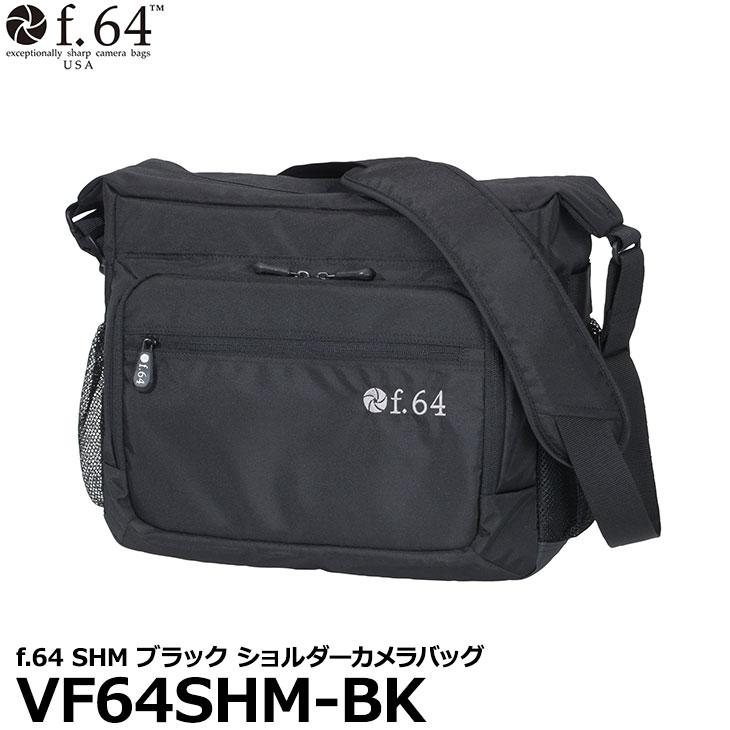 【送料無料】 エツミ VF64SHM-BK f.64 SHM ブラック カメラバッグ [35mmフルサイズ一眼レフカメラ対応 ショルダーバッグ]