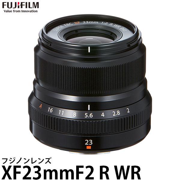 【送料無料】 フジフイルム フジノンレンズ XF23mmF2 R WR B ブラック [Xマウント/交換レンズ/FUJIFILM]