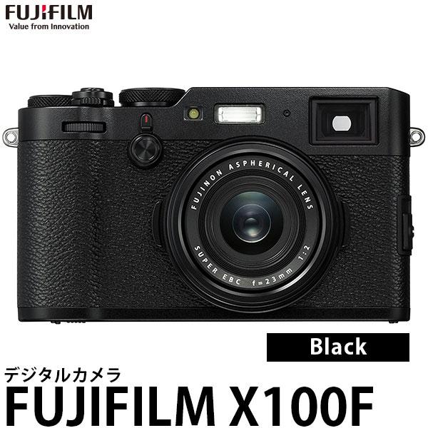 【送料無料】 フジフイルム FUJIFILM X100F ブラック [2430万画素/内蔵ファインダー/Wi-Fi搭載/F X100F-B/富士フイルム]