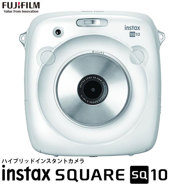 【送料無料】 フジフイルム instax SQUARE SQ10 ハイブリッドインスタントカメラ ホワイト