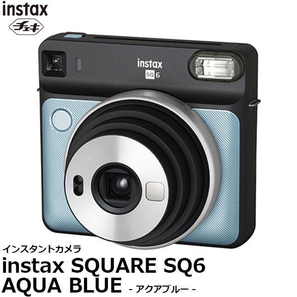 【送料無料】 フジフイルム インスタントカメラ instax SQUARE SQ6 アクアブルー