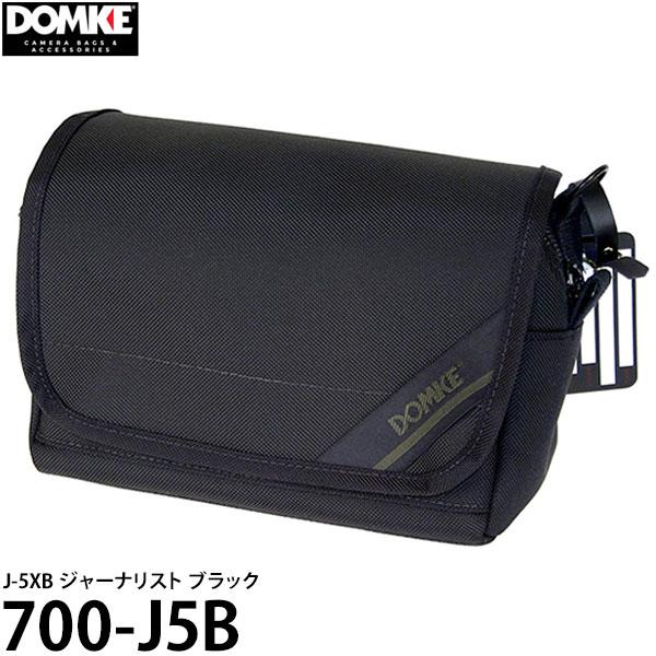 【送料無料】 ドンケ 700-J5B J-5XB ジャーナリスト ブラック [DOMKE カメラバッグ M型ライカ ショルダーバッグ] ※欠品:納期未定(6/4現在)