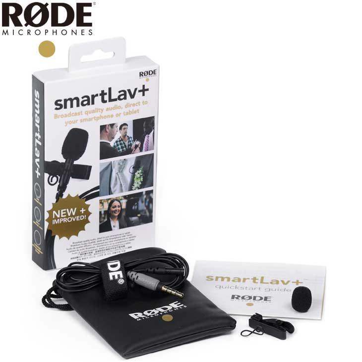 【送料無料】 RODE SmartLav+ スマートフォン専用ラベリアマイク [ロードマイクロフォンズ 無指向性 ピンマイク スマホ対応]