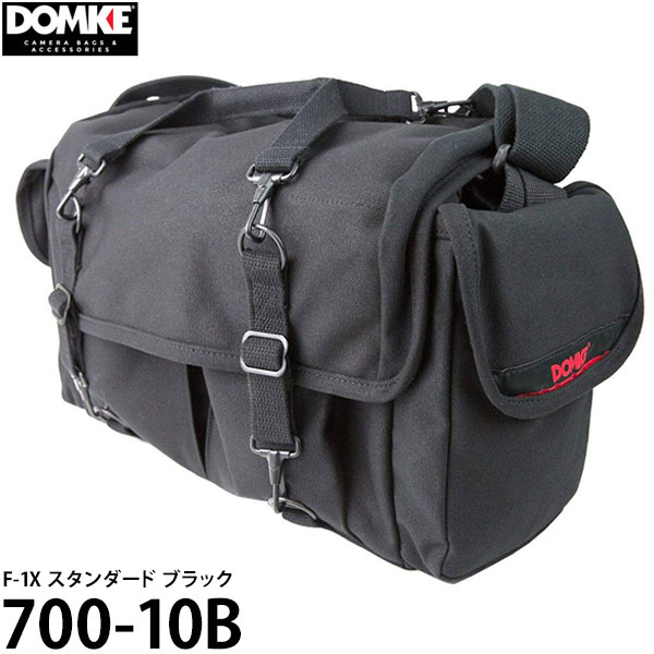 【送料無料】 ドンケ 700-10B F-1X スタンダード ブラック [DOMKE カメラバッグ 一眼レフ ショルダーバッグ]