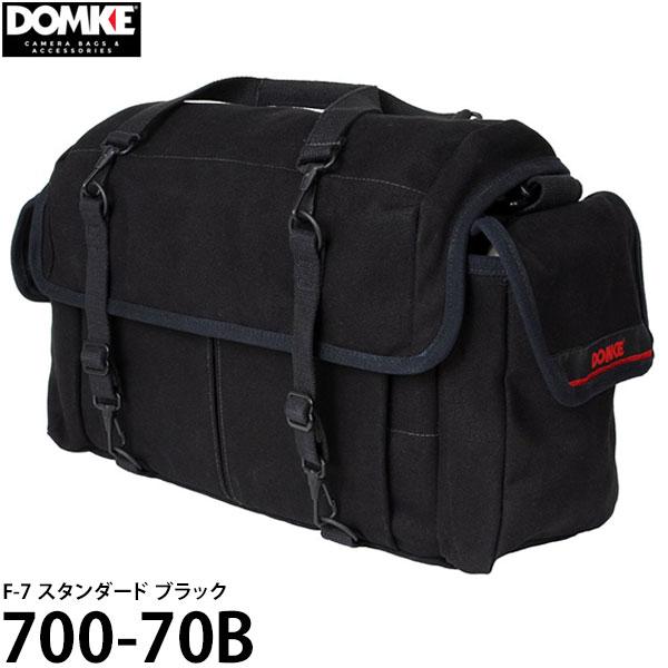 【送料無料】 ドンケ 700-70B F-7 スタンダード ブラック [DOMKE カメラバッグ 一眼レフ ショルダーバッグ]
