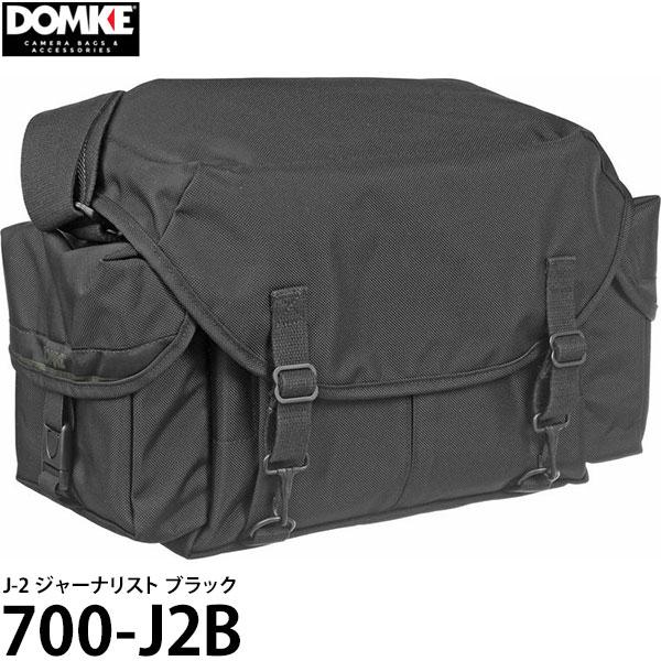 【送料無料】 ドンケ 700-J2B J-2 ジャーナリスト ブラック [DOMKE カメラバッグ 一眼レフ ショルダーバッグ]
