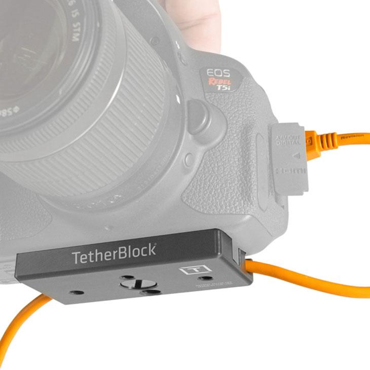 【メール便 送料無料】 テザーツールズ TB-MC-005 テザーブロック [USBケーブル 抜け防止 TETHER TOOLS アクセサリー]