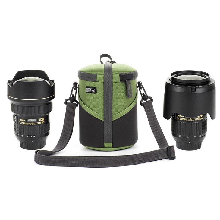 授与 店内限界値引き中 セルフラッピング無料 タテ開きでカメラレンズをすぐに取出しできます 送料無料 シンクタンクフォト レンズケースデュオ20 グリーン カメラ用 photo 20 Case Duo thinktank Lens