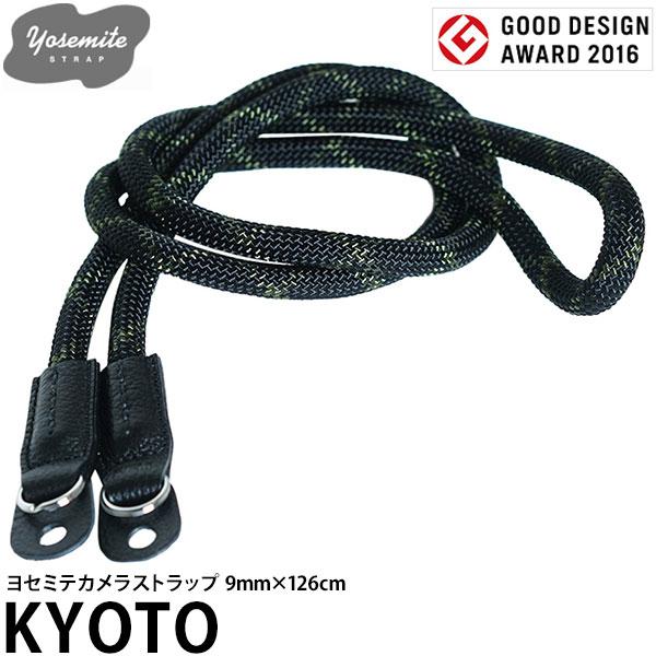 【送料無料】 EXTENDED 10038 YOSEMITE CAMERA STRAP KYOTO 9mm×126cm [ヨセミテ カメラストラップ 9mm径クライミングロープ使用]